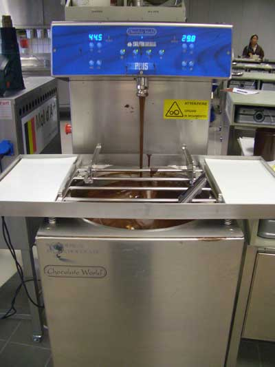 Tempering Machine For Chocolate Chocolate World Tempering